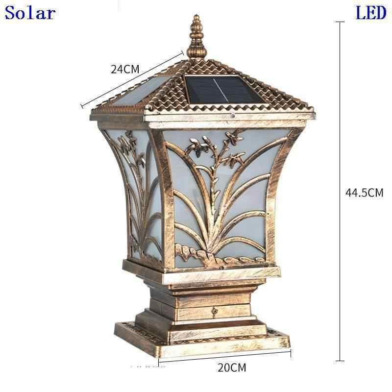 Фигурка Foco наружный светильник внешнее освещение Terraza Y Jardin Decoracion солнечное освещение для наружного использования фонарь для ландшафтного сада