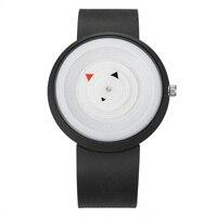 Пара часы браслет творческая тенденция диск Environ Для мужчин Тал защиты силиконовые секунд указатель Повседневное Для мужчин и Для женщин Уч...
