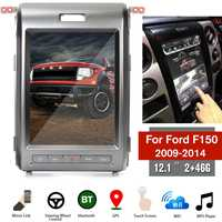 Android6.0 12.1inch Car No DVD Player GPS Navigation For Ford F150 F 150 2009 2014 Multimedia Stereo Auto Radio Unit Radio