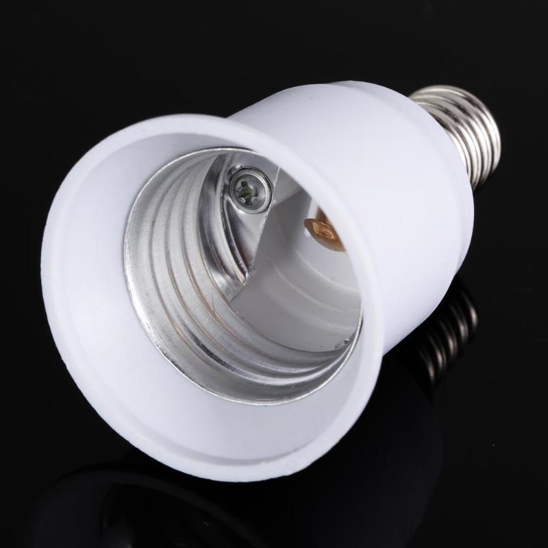 5 шт. E14 к E27 Цоколь Винт держатель лампы адаптер гнездо конвертер E14 к E27 патрон лампы Конвертеры