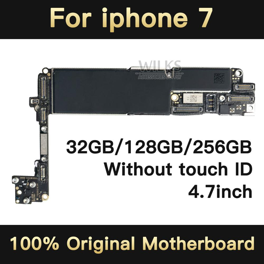 32GB / 128GB / 256GB for iPhone 7 Motherboard without Touch ID,Original unlocked for iphone 7 mainboard with Chips,Good Tested32GB / 128GB / 256GB for iPhone 7 Motherboard without Touch ID,Original unlocked for iphone 7 mainboard with Chips,Good Tested