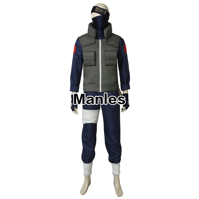 Image 2 - Anime Naruto Costumes Hatake Kakashi Cosplay Haruro Sakura Halloween Adult Fantasy Party Christmas Headwear Custom Made Suit-in Movie & TV costumes from Novelty & Special Use