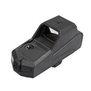 Image 3 - Caccia MH1 Tactical Red Dot Sight Doppio Sensore di Movimento Mirino Reflex Più Grande Campo Di Vista di Visione Notturna Scope Ak 47