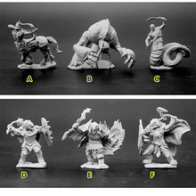Resin Model Figures Dungeons And Dragons DND 1/72 Scale Model Fantasy Magic Figure Monsters Lizard People Albuginea Diy Kit Toys 10 pieces plastic model kit 1 72 dungeons and dragons dnd board game resin figure toys hobbies toys for children limited