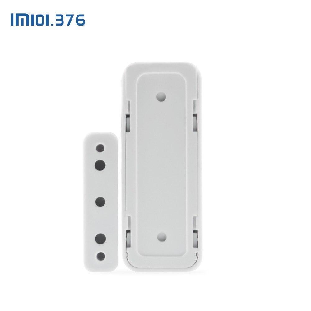 Détecteur de capteur d'aimant de porte de fenêtre sans fil de LM101.376 433MHz pour le système d'alarme sans fil à la maison - 4