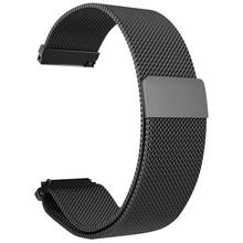 Metal Milanese Loop Watch Bands Magnetic Adsorption Wristband Durable Strap For Xiaomi Huami Amazfit Verge 3