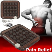 Natural Jade Tourmaline Massage Pad Infrared Heating Mat Pain Relief back shoulder Leg Aarm Abdomen Relieve Muscle Body health