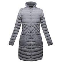 Autumn Winter Basic Jacket Cotton Coat 2018 Fashion Women Warm Long Parka High Quality Casual Pocket Slim Mujer Outerwear ls060 цены онлайн