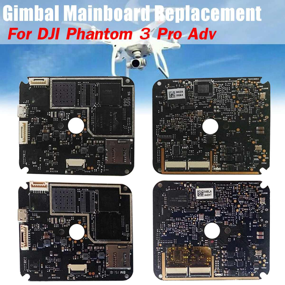 Repair Parts Gimbal Camera Forward Sensor Control Board Mainboard For Dji Phantom 3 Adv For Dji Phantom 3 Pro Drone Replacement