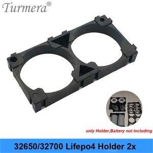 Turmera 32650 32700 2x держатель батареи безопасность ячеек анти вибрации пластиковые скобы для 32650 32700 аккумулятор