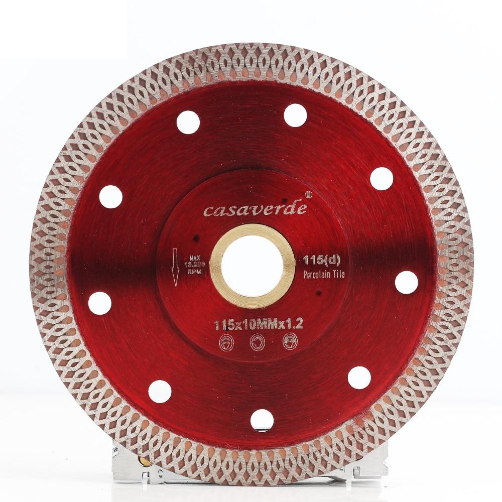 Casaverde Brand D115mm Super Thin Diamond Porcelain Cutting Blade For Cutting Ceramic Or Porcelain Tile