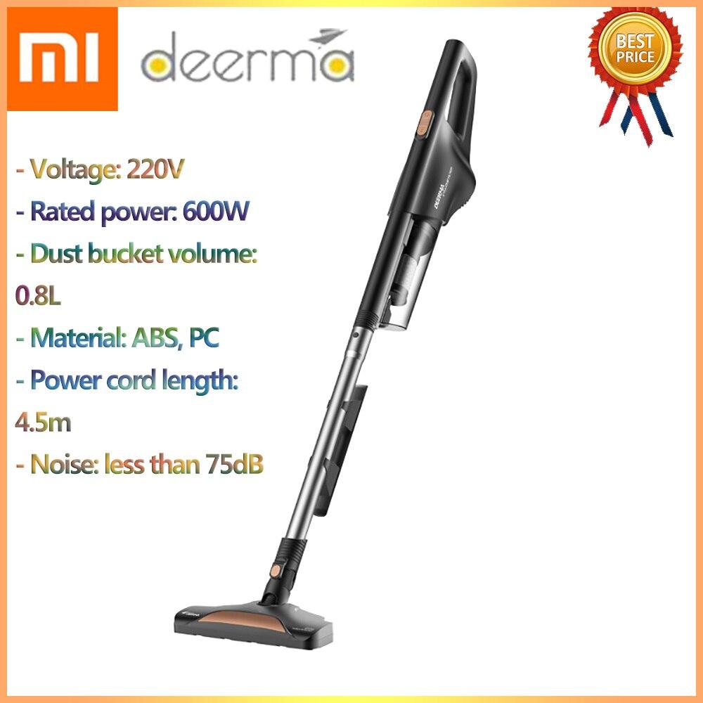 2019 Original Xiaomi Deerma Handheld Vacuum Cleaner Household Silent Vacuum Cleaner Strong Suction Dust Collector Home