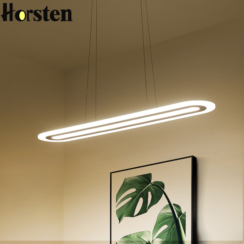 Bon Minimalism Modern Led Pendant Lights Dining Room Hanglamp Office Hanging  Lights Nordic Pendant Lamp Hanging Ceiling Fixtures
