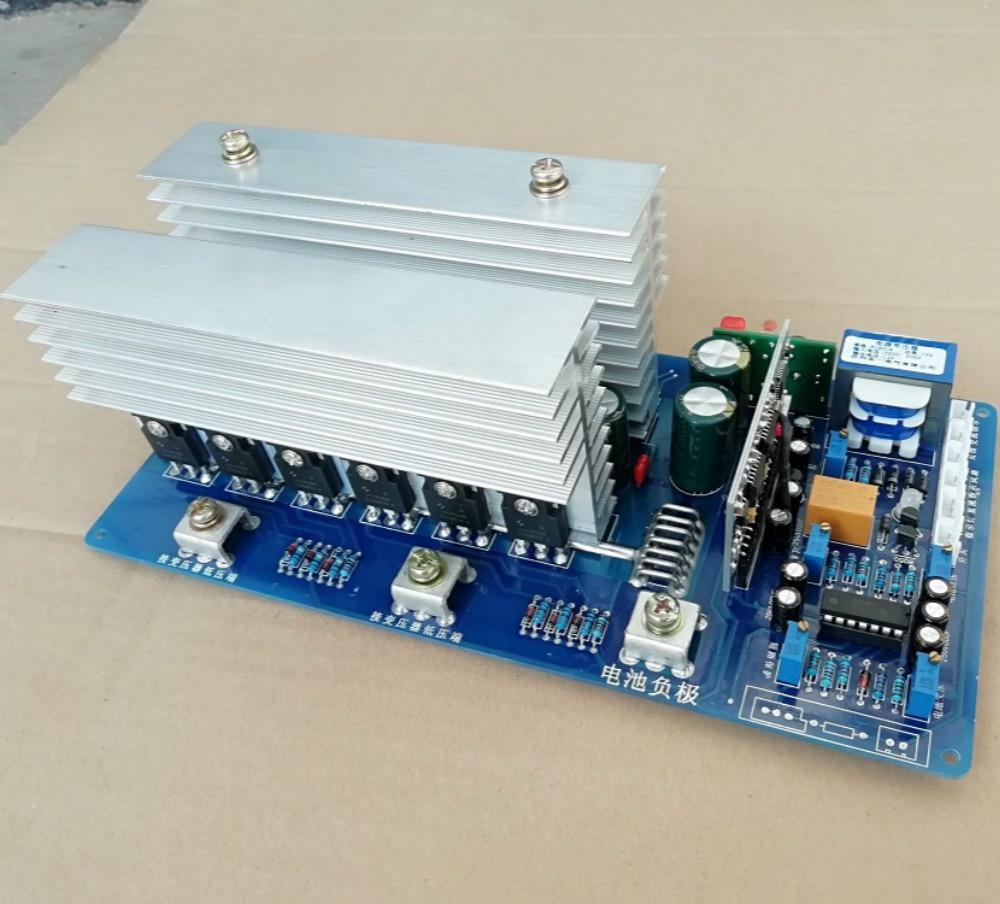 12v1500w 24v3000w 36v4000w 48v5500w 60v6500w 72v7500w High power frequency pure sine wave inverter motherboard PCB circuit