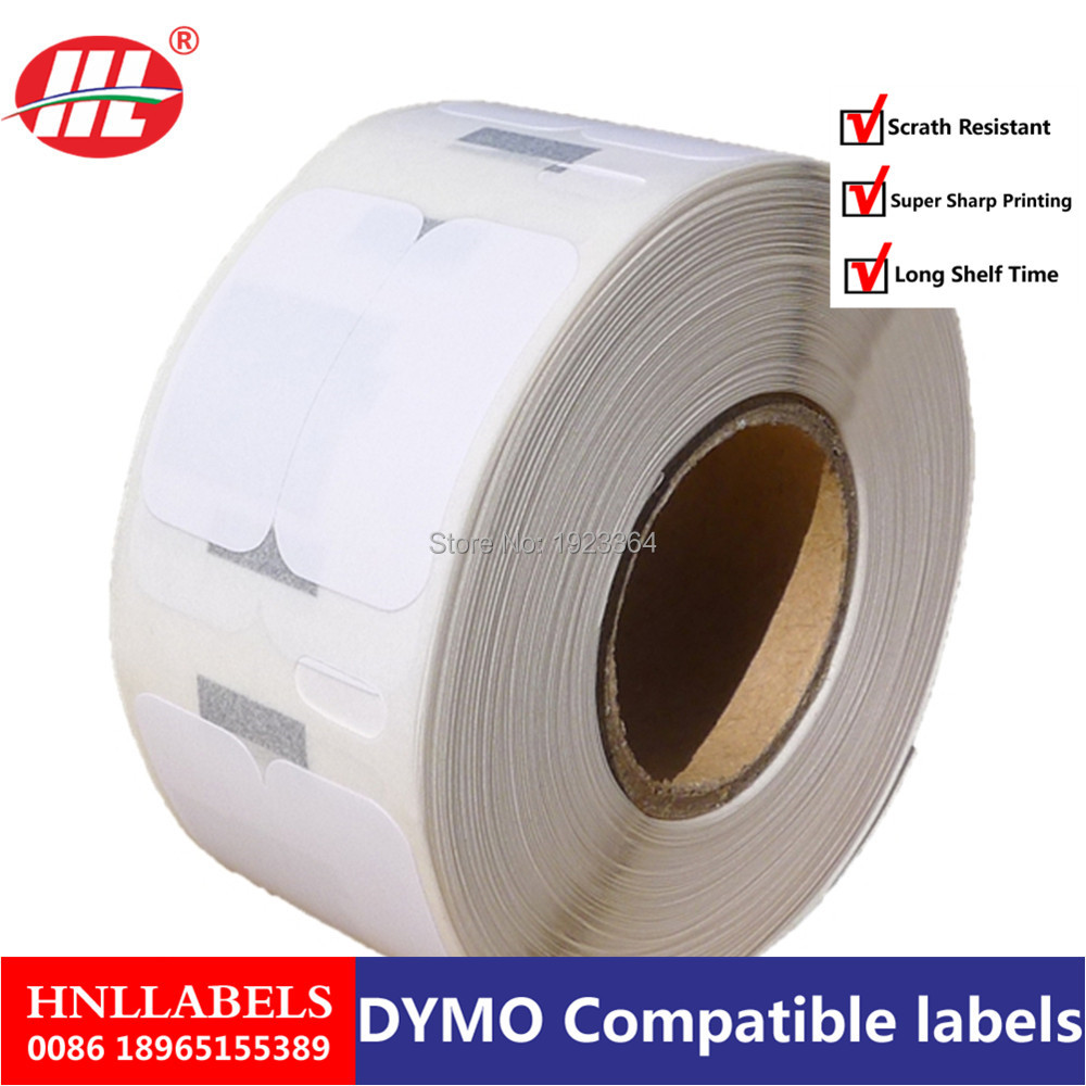 100X Rolls Dymo Compatible Labels 11353 1353 LabelWriter Turbo SLP Etiketten Multipurpose Labels Thermal Paper 24mm X 12m