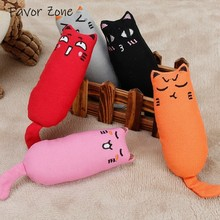 Plush Catnip Cat Toy Cute Interactive Creative Pillow Toys For Cats Chew Teeth Grinding Scratcher Kitten Funny Supplies