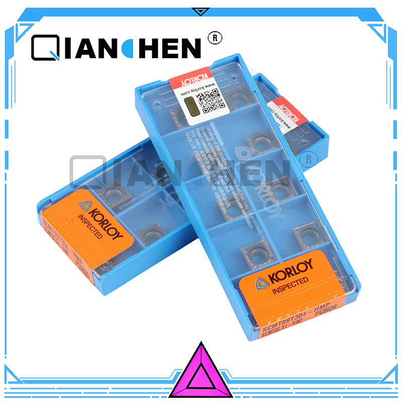 Original KORLOY SCMT09T304 HMP PC9030 (10pcs/lot) Cutting tools insert