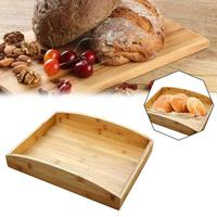 Bamboo Slipper Storage Tray Hotel Room Kitchen Bedroom Fruit Box Bamboo Shoe Tray Fruit Tray Home Hotel Supplies