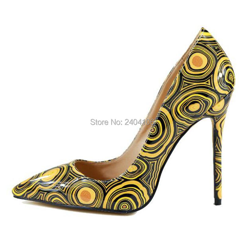 Factory Directly Sales <font><b>High</b></font> Quality New Fashion Mix-Color Thin <font><b>Heel</b></font> Pointed Toe Women Shoes <font><b>12</b></font> <font><b>cm</b></font> <font><b>High</b></font> <font><b>Heel</b></font> Shoes image
