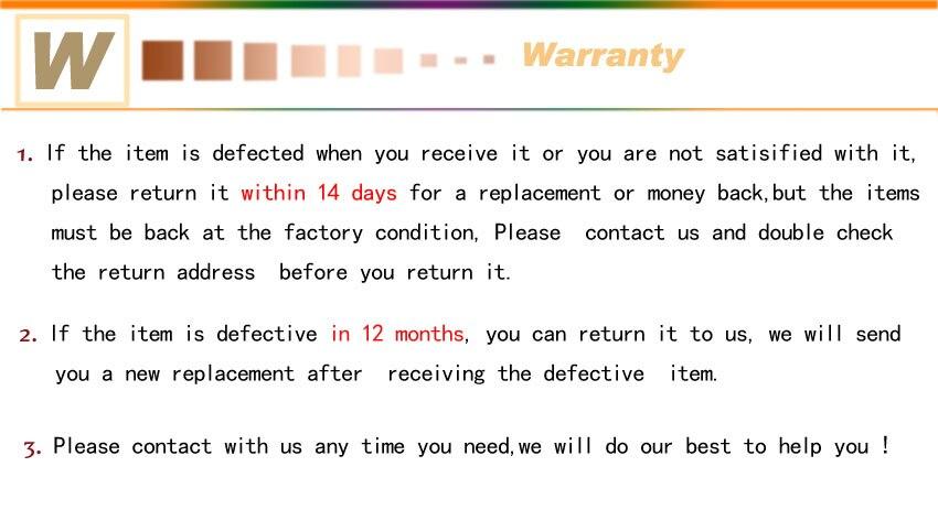 4 warranty