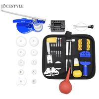 48pcs/set Watch Repair Tools Kit Watch Case Opener Link Spring Bar Remover Watchmaker Repair Devices Set Accessories