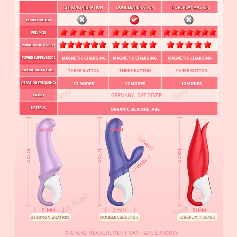 German satisfyer G-spot vibrator dildo licks clitoral anal orgasm masturbator massage stick for adult toy female Masturbator
