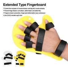 03618a681e Dedo Órteses Estirpes Entorses Mão Apoio Bandagem Tipo Estendido  Fingerboard Avc Mão Splint Formação Mão Apoio para o punho Brac.