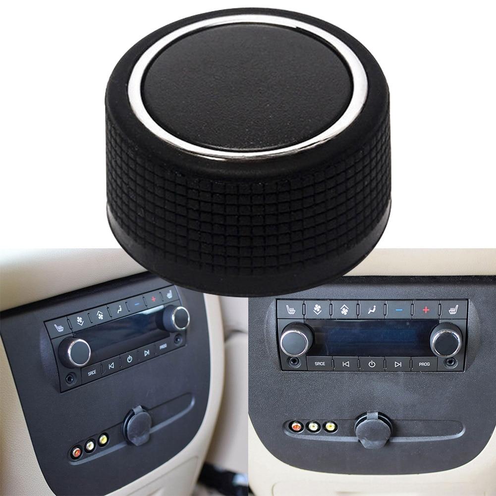 Задний интерьер автомобиля Прочный Контроль радио громкости аксессуар переключатель ручка Поворотная для Chevrolet Silverado GMC Sierra Yukon