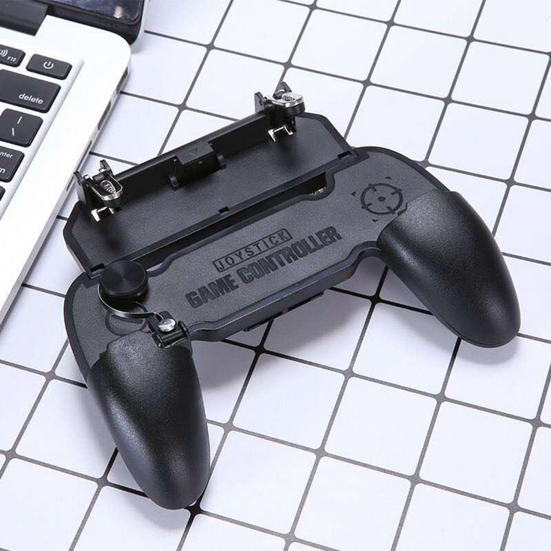 W11+ 4 In 1 Multi Function Game Controller   PUBG Mobile Artifact Game Assistant Key Handle Gamepad