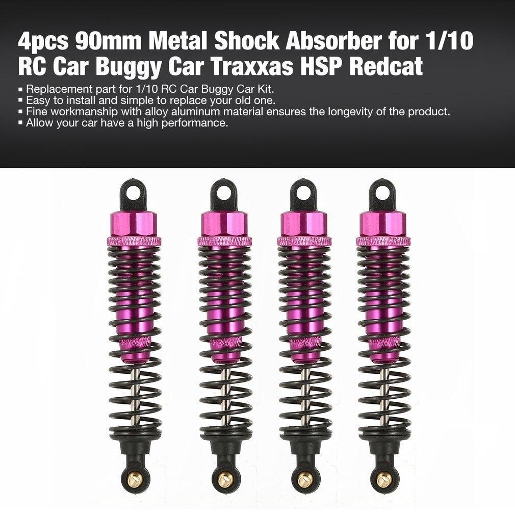 4PCS 90mm//100mm Metal Shock Absorber Damper for 1//10 RC Crawler Traxxas HSP Car