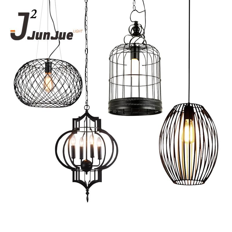 Modern Style Black Color Handmade Loft Pendant Lamp Indoor LightModern Style Black Color Handmade Loft Pendant Lamp Indoor Light