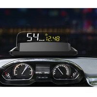 Car Electronics Head Up Display Obd 2 Display Projector On Windshield Gps Speedometer Hud Projector Car Speedometer Car Screen