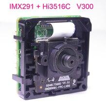 """3.7 מ""""מ עדשת אינטליגנטי ניתוח H.265/H.264 1/2. 8 """"Sony STARVIS IMX291 CMOS Hi3516C V300 IP CCTV מצלמה PCB לוח מודול"""