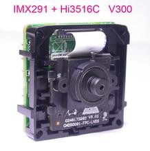 "3.7mm LENs Intelligente Analyze H.265/H.264 1/2. 8 ""Sony STARVIS IMX291 CMOS Hi3516C V300 IP CCTV camera PCB board module"