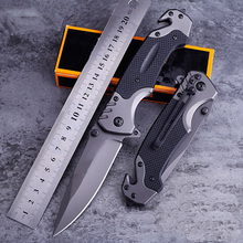 OWL OD099 tactical folding knife ball bearing Flipper 9CR18MOV blade G10 handle camping survival pocket knife utility tool
