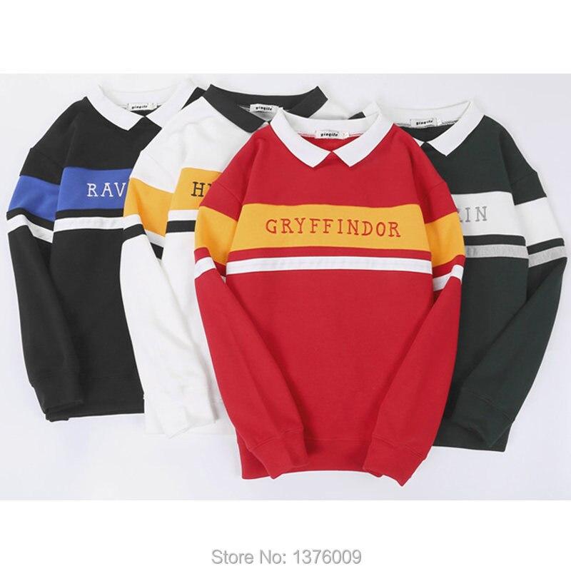 Tops Harajuku Collar Sweatshirt