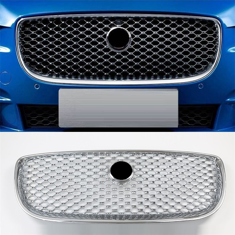 Decoration Automobile Mouldings Exterior Car Accessories Racing Grill 04 05 06 07 08 09 10 11 12 13 14 15 16 17 18 FOR Jaguar XJ in Racing Grills from Automobiles Motorcycles