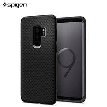 Защитный чехол Spigen для Samsung Galaxy S9+ Liquid Air цвет черный матовый/593CS22920/100
