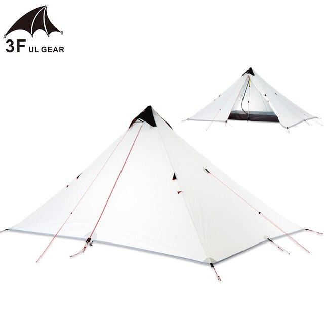 3F UL Pyramid Tent Single Person 15D Double Layer  Ultralight 3 Season 3