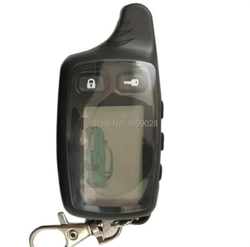 TW-9010 LCD Remote Control Key For Tomahawk TW9010 Tomahawk TW 9010 Two Way Car Alarm System Russian Tomahawk TW-9010 Keychain