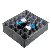 30 ячеек бамбуковый уголь Галстуки Носки ящик шкаф Органайзер ящик Органайзер коробка для хранения Gary