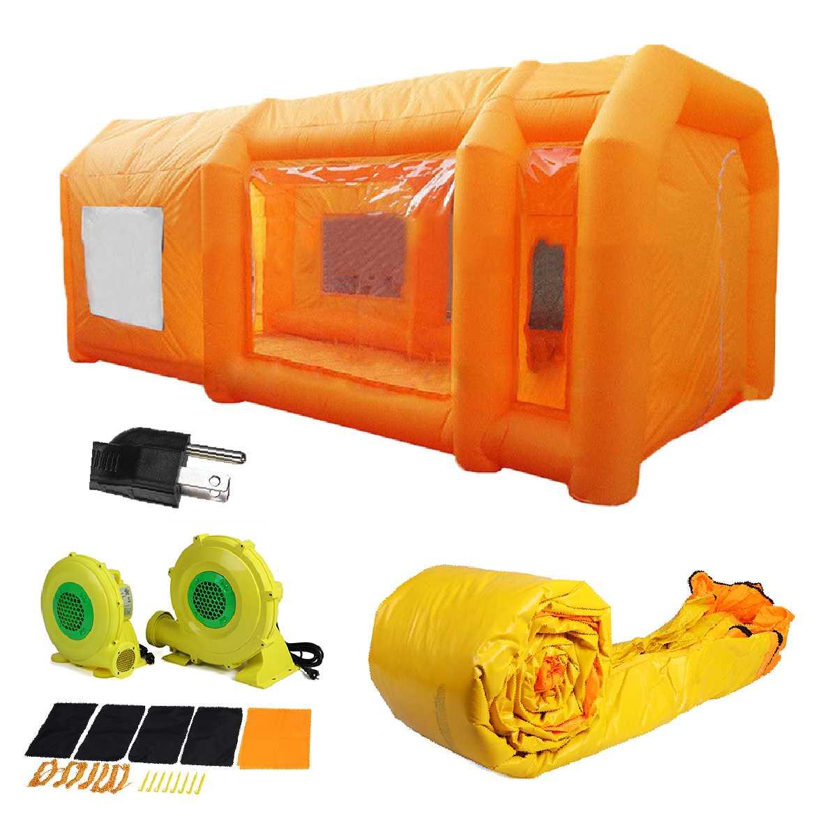 Garages gonflables portatifs, jeu d'enfants de tente de jeu d'enfant, cabine de peinture de tipi a utilisé la cabine gonflable de jet de tente pour la vente de voitures