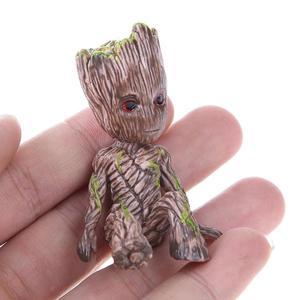 Image 4 - Bé Groot Lọ Hoa Hoa Dụng Cụ Bào Các Bức Tượng Nhỏ Cây Con Người Dễ Thương Đồ Chơi Mô Hình Bút Nồi Vườn Dụng Cụ Bào Hoa Tặng trẻ Em