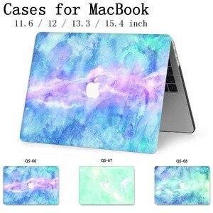 Image 1 - Для ноутбука MacBook Чехол для ноутбука рукав для MacBook Air Pro retina 11 12 13 15,4 дюймов с защитой экрана крышка клавиатуры