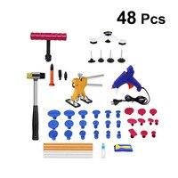1 Set Dent Repair Tools Paintless PDR Tools Glue Gun Dent Repair Kit Dent Lifter Remover Removal Tools for Car Repairing