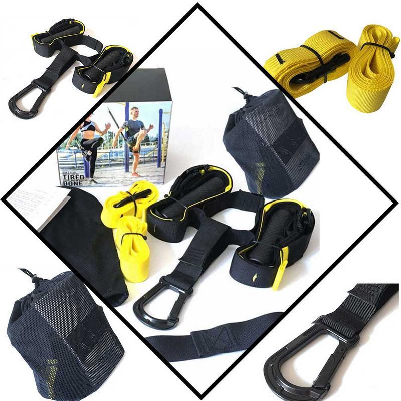 Bandes de résistance Fitness hommes musculation ceinture suspendue Sport Gym entraînement Fitness Suspension exercice tirer des sangles de corde