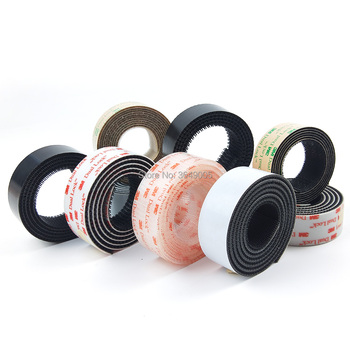 Dual Lock SJ3550/SJ3560 Black or Clear VHB adhesive tape Mushroom Fastener Tape, Type 250 - sale item Hardware