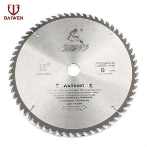 "Image 2 - 12 ""305mm מסור עגול להב עץ אלומיניום כלי חיתוך ביצרו קרביד 40 60 80 100 שיניים"