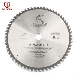"Image 2 - 12"" 305mm Circular Saw Blade Wood Aluminum Cutting Tools Cemented Carbide 40 60 80 100 Teeth"