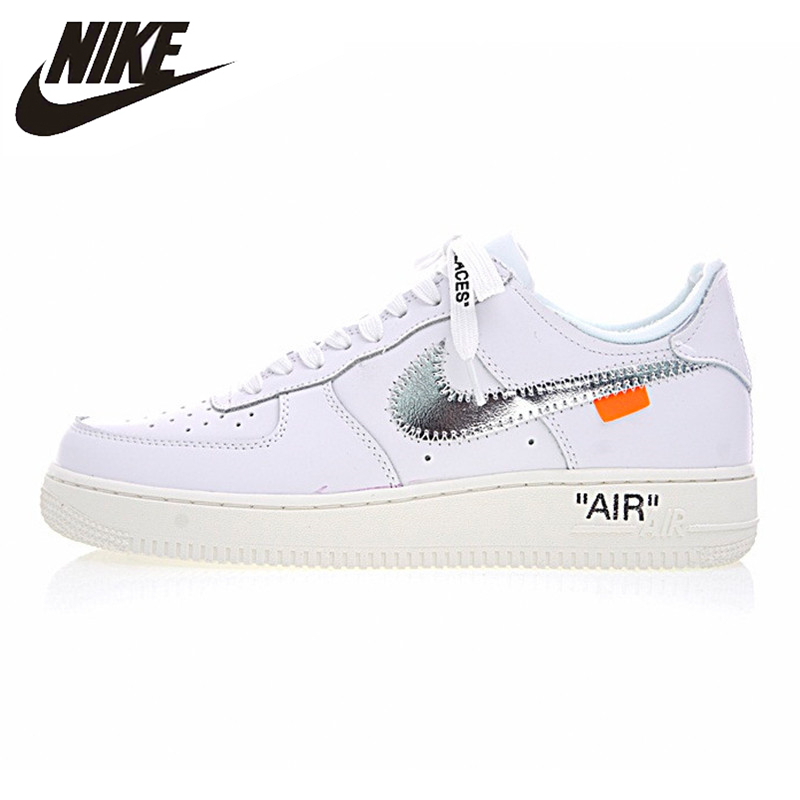 Nike Air Force 1 Original OFF WHITE COMPLEX CON  Mens Skateboarding Shoes Breathable Wearable Lightweight Sneakers #AO4297-100Nike Air Force 1 Original OFF WHITE COMPLEX CON  Mens Skateboarding Shoes Breathable Wearable Lightweight Sneakers #AO4297-100